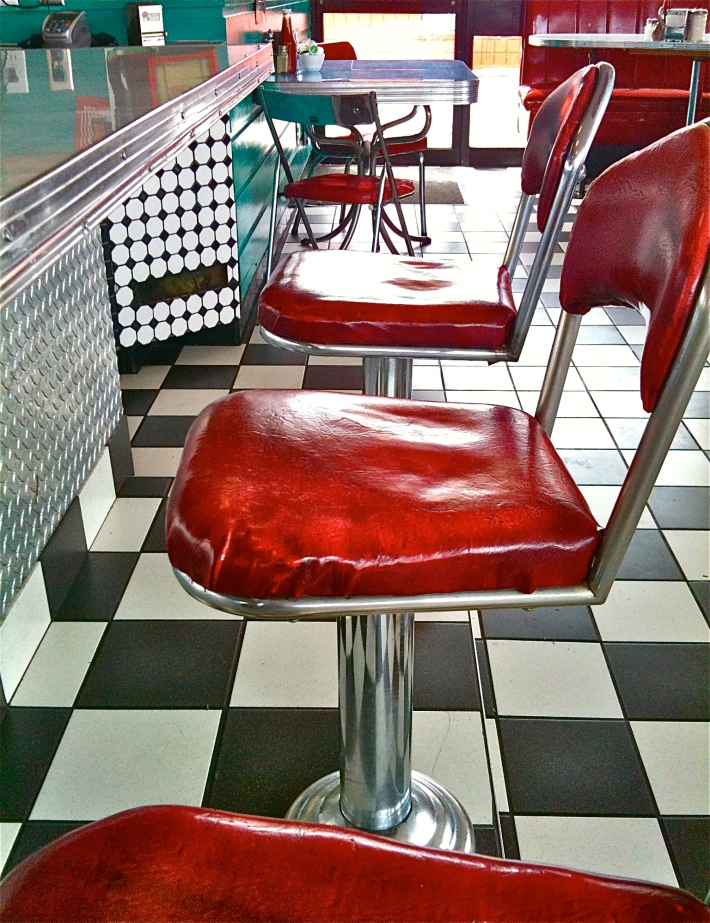 50's Diner, by Guacira Naves
