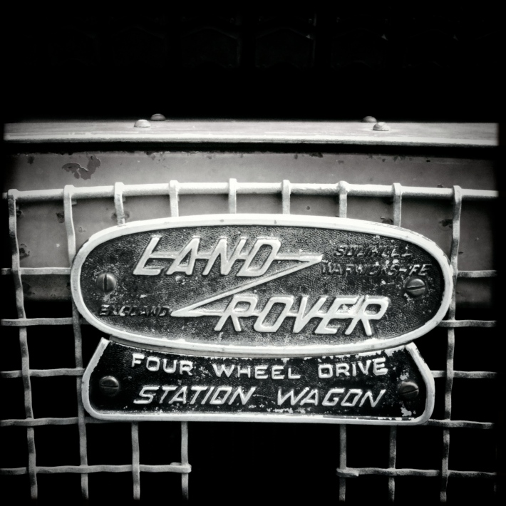 Old Land Rover, by Guacira Naves