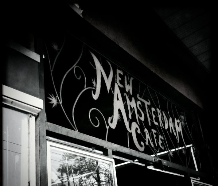 New Amsterdam Café, by Guacira Naves