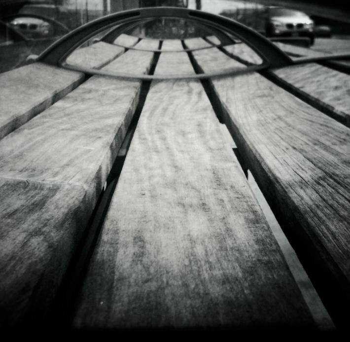 Bus Shelter Bench, by Guacira Naves