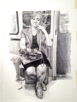 Metro Series #1: Pensive Lady